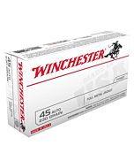 WIN AMMO USA .45ACP 230GR. FMJ-RN 50-PACK