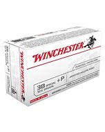 WIN AMMO USA .38 SPECIAL +P 125GR. JHP 50-PACK