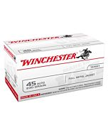WIN AMMO USA .45ACP 230GR. FMJ-RN 100-VALUE PACK