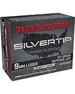 WIN AMMO SUPER-X 9MM LUGER 147GR. SILVERTIP HP 20-PACK